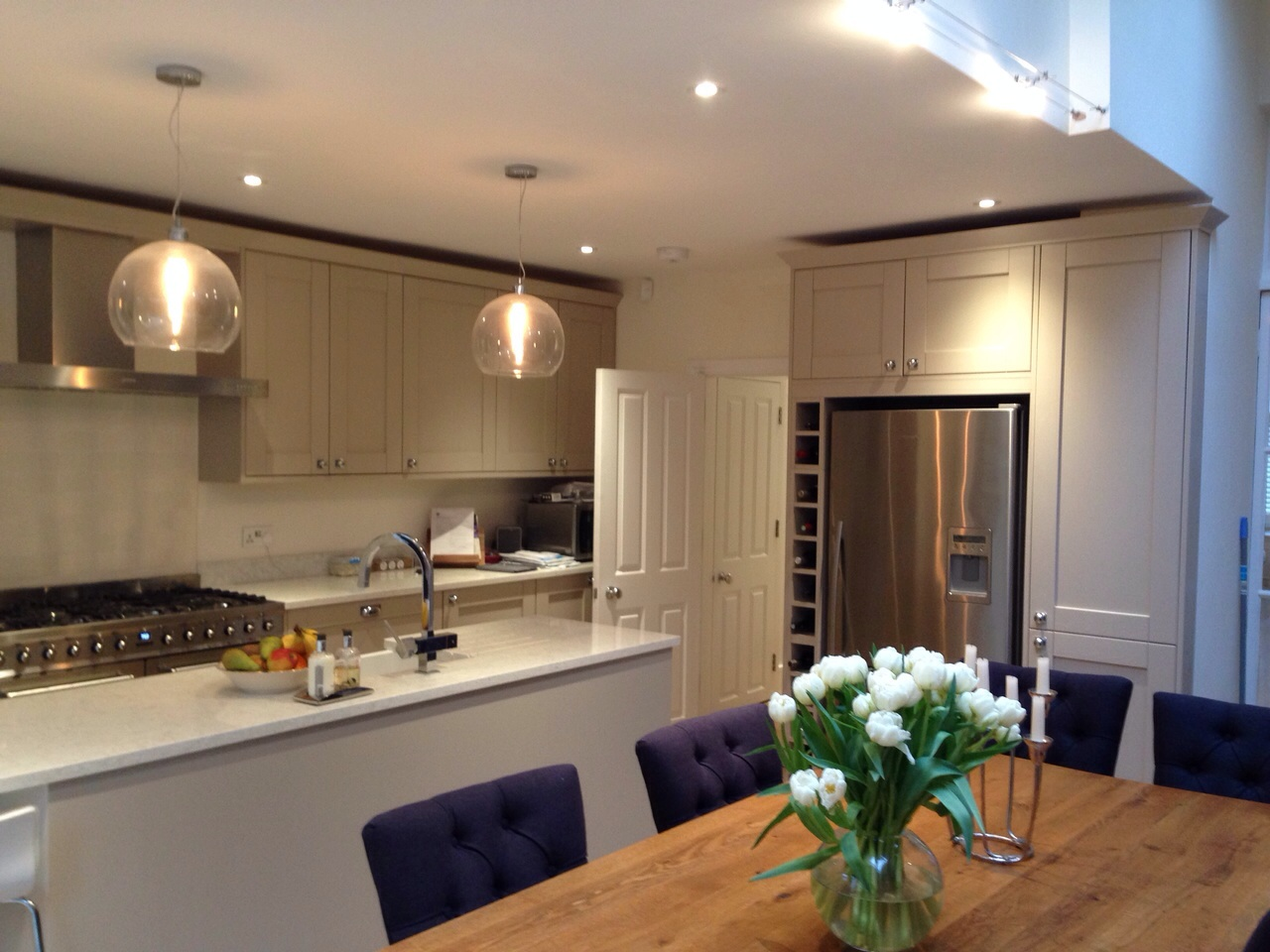Kitchens ashley pinney carpentry for Kitchen ideas uk howdens